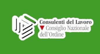 Rinnovato il Consiglio Nazionale dell'Ordine dei Consulenti del Lavoro
