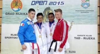 Karate. L'Azzurrino Giuseppe Panagia Oro e Argento al XV° Torneo Internazionale Open di Croazia