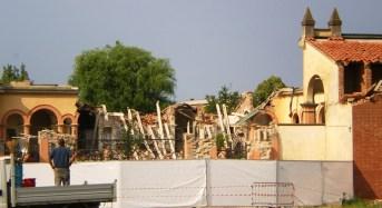 Concordia sulla Secchia. Aprirà oggi il cantiere per i lavori di restauro e ripristino del Cimitero Monumentale.