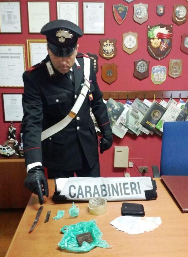 droga Carabinieri Chiaramonte (RG)