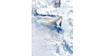 Antartide, eccezionale distacco di ghiacci da Nansen: nati due grossi iceberg
