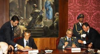 Firmato protocollo d'intesa tra la direzione investigativa antimafia e la guardia di finanza
