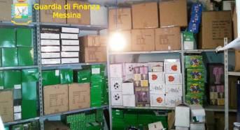 Messina. Sequestrati 5.500 articoli contraffatti