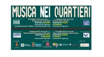 """A Vigevano Ritorna la Rassegna """"Musica nei Quartieri"""""""