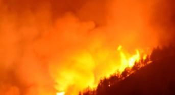 Due vasti incendi ieri sul territorio di Monterosso Almo