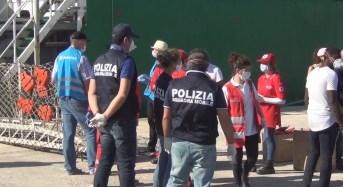 481 persone migranti sbarcati ieri a Pozzallo