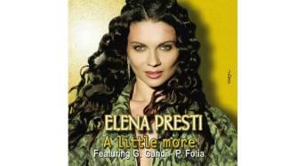 """Elena Presti con il brano """"A little More"""" conquista il Disco di Platino e si conferma Hit dell'estate 2016"""