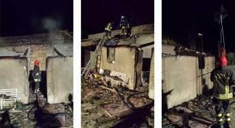 Comiso. In fiamme un'abitazione rurale: Nessun ferito