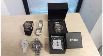Aeroporto di Catania. GdF e Dogana sequestrano orologi e gioielli contraffatti a una turista italiana di ritorno da Istanbul
