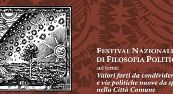 Ragusa, 1°Festival Nazionale Ibleo di Filosofia Politica
