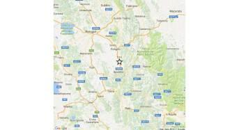 Evento sismico in provincia di Perugia, magnitudo 4.1