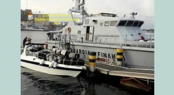 Maxi-sequestro di marijuana nel basso Adriatico