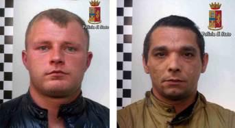 Vittoria. La polizia arresta altri due pregiudicati