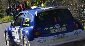 La Project Team in forze al Rally di Mussomeli
