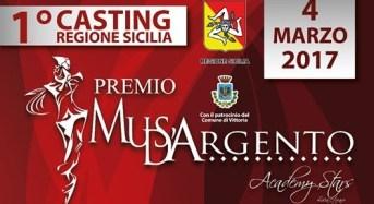 Vittoria, primo casting regionale Premio Musa D'Argento