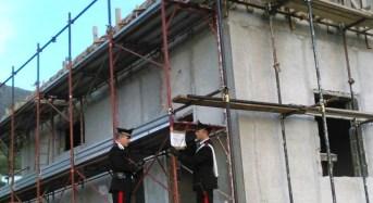 Chiaramonte Gulfi. Cantieri edili, controlli dei carabinieri: Scattano 2 denunce e sanzioni per 15.000 euro