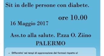 F.D.S. – Federazione Diabete Sicilia: Un sit-in per i diritti e i doveri delle persone con diabete