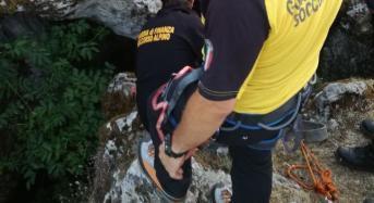 Salvato dal SAGF di Nicolosi uno speleologo disperso da 36 ore sui monti messinesi