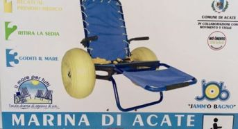 Acate. Spiaggia accessibile ai disabili grazie al Movimento 5 Stelle. Nota del Movimento.
