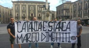 Inchiesta Bellini: CasaPound Catania ieri è scesa nuovamente in piazza