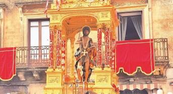 Monterosso Almo, hanno preso il via i festeggiamenti in onore di San Giovanni Battista
