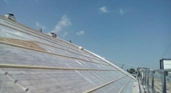 Ragusa, in corso i lavori di ripristino della copertura del Palaminardi