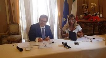 Lavori corso dei Martiri a Catania, il Sindaco e il Prefetto firmano protocollo legalità