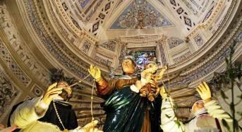 Ragusa. Madonna del Rosario: Domani sera nella chiesa dell'Ecce Homo la discesa del simulacro