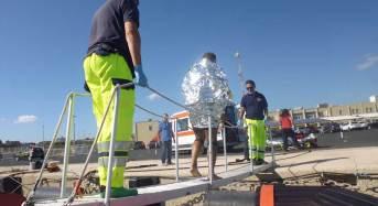 La guardia costiera di Pozzallo salva un kitesurfista in balia del vento e del mare