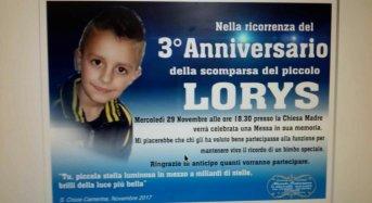Tre anni dalla scomparsa del piccolo Lorys. Veronica scrive una lettera al figlio. Papà Davide organizza una Santa Messa.