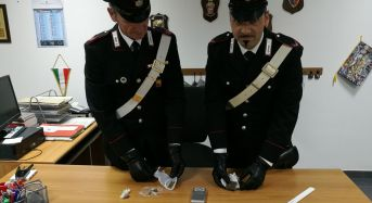 Scicli. Droga già pronta per lo spaccio: arrestato dai Carabinieri