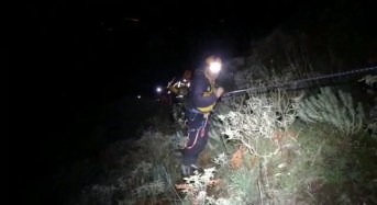 Gli alpini della GdF recuperano il corpo di un cacciatore messinese caduto in un canalone nei monti peloritani