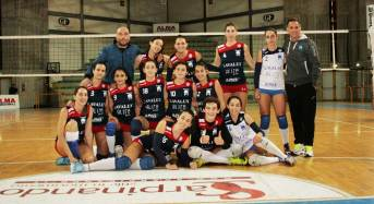 Terza vittoria consecutiva per la Saracena Volley