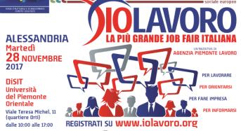 IOLAVORO ritorna ad Alessandria il 28 novembre. Numerose opportunità d'impiego