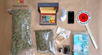 Modena. Arrestato dalla Polizia di Stato quarantenne di origini campane in possesso di 2 kg di sostanza stupefacente