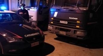Carabinieri arrestano due persone per furto di gasolio