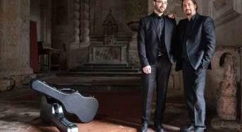 """""""Tiempo de guitarras"""": Con il """"Duo Alessi – Palmeri"""" ha preso il via la rassegna invernale a Noto"""
