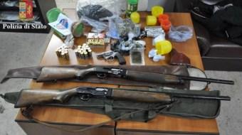 Catania. Arrestato pregiudicato per detenzione illegale di armi da fuoco clandestine e ricettazione
