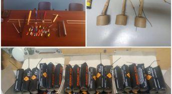 Calcio. Catania – Matera: Tifosi del Matera trovati in possesso di 52 bombe carta, mazze, martelli e fumogeni