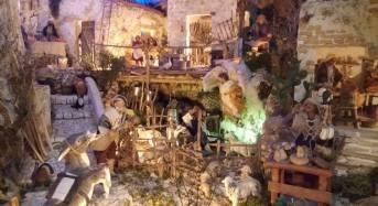 Ben ventidue presepi in miniatura esposti al museo di arte sacra a Chiaramonte Gulfi