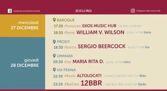 Al via l'Ekos Music Fest, il 28 dicembre concerti, musica e spettacoli per le vie di Scicli