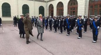 Il Generale Graziano al Giuramento degli allievi dell'Accademia Navale di Livorno