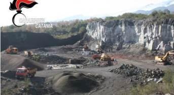 Mascali, sotto sequestro una cava di estrazione di materiali inerti
