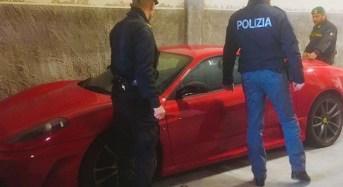 Catania, sequestrata Ferrari ad un professionista etneo