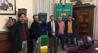 Raccolta differenziata a Ragusa, da oggi la consegna dei kit ai cittadini