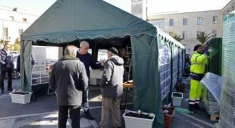Raccolta differenziata a Ragusa: Avviata in piazza Libertà la consegna dei kit agli utenti. Il servizio prenderà il via a maggio