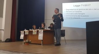 Messina. La Polizia di Stato a scuola. Si parla di cyberbullismo al Comprensivo Manzoni di Mistretta