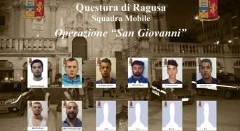 """Ragusa. Operazione """"San Giovanni"""": Dopo mesi di indagini in manette diversi spacciatori di piazza San Giovanni"""