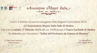 """Mozart arriva a Modica: Nasce nella città della contea """"L'associazione Mozart Italia – sede di Modica"""""""