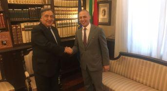Palermo. Sindaco conferisce Cittadinanza Onoraria ad Eugenio Grimaldi